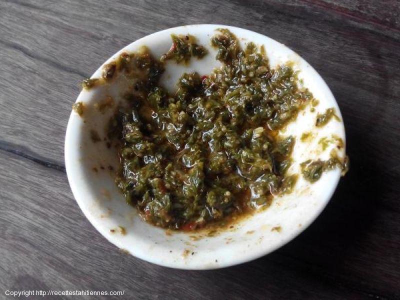 sauce aux herbes pour grillades