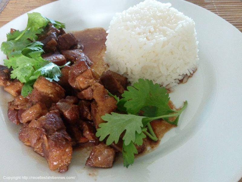 Pua'a sauce huitre