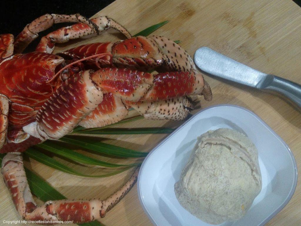 Kaveu, crabe de cocotier